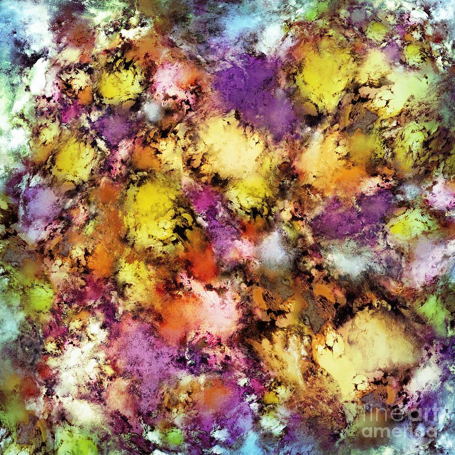 Decorations Digital Art - Dismantling The Flowers by Keith Mills