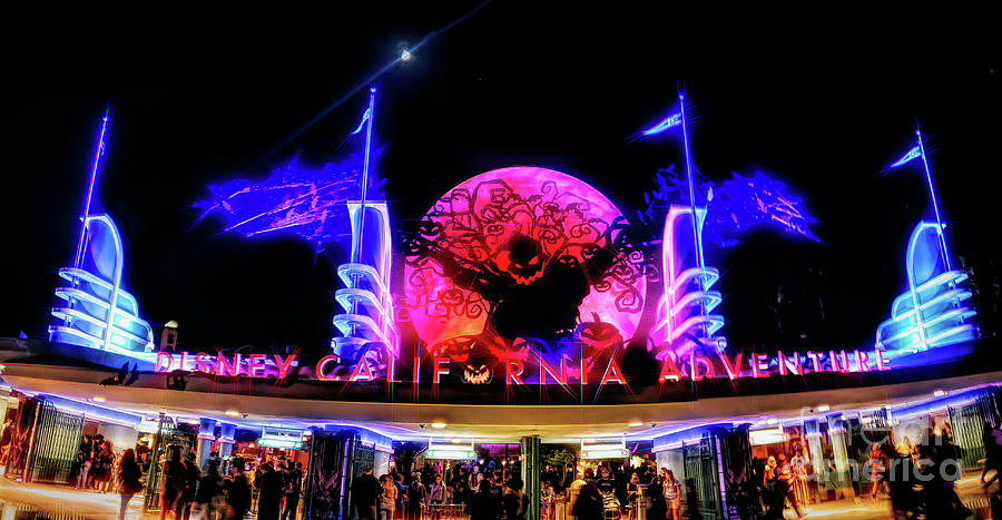 Disney California Adventure Halloween by Joe Lach