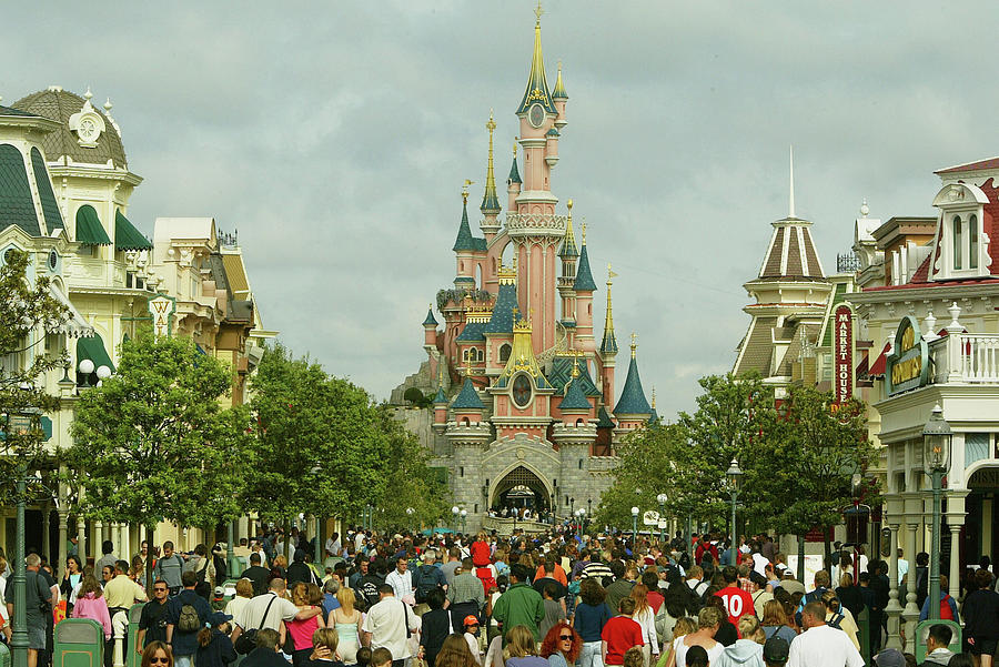 Disneyland Paris Becomes One Of Europes Photograph by Pascal Le Segretain