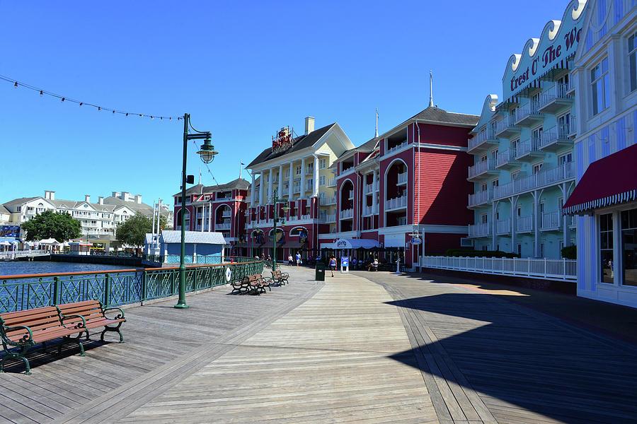 Disney's Boardwalk by David Lee Thompson