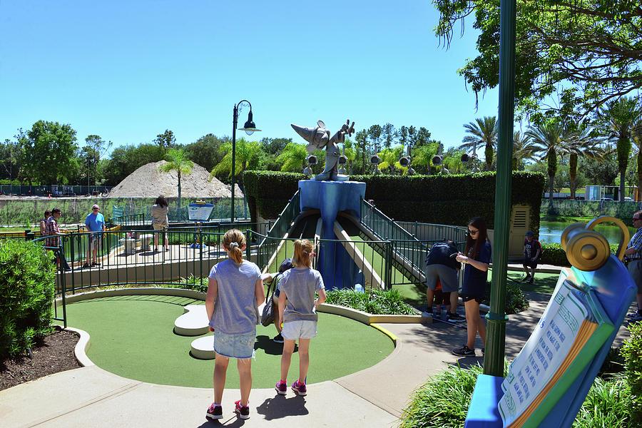Disney's Fantasia Gardens Golf by David Lee Thompson