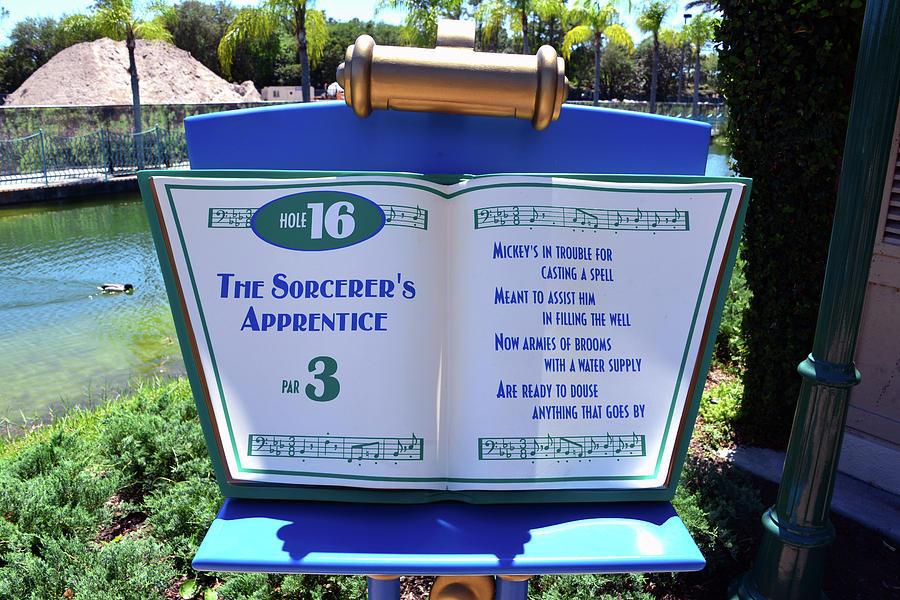 Disney's Fantasia Gardens hole number 16 by David Lee Thompson