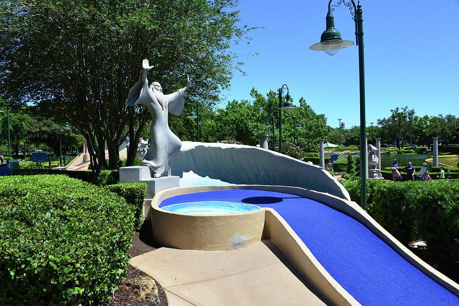 Disney's Fantasia Golf Hole by David Lee Thompson