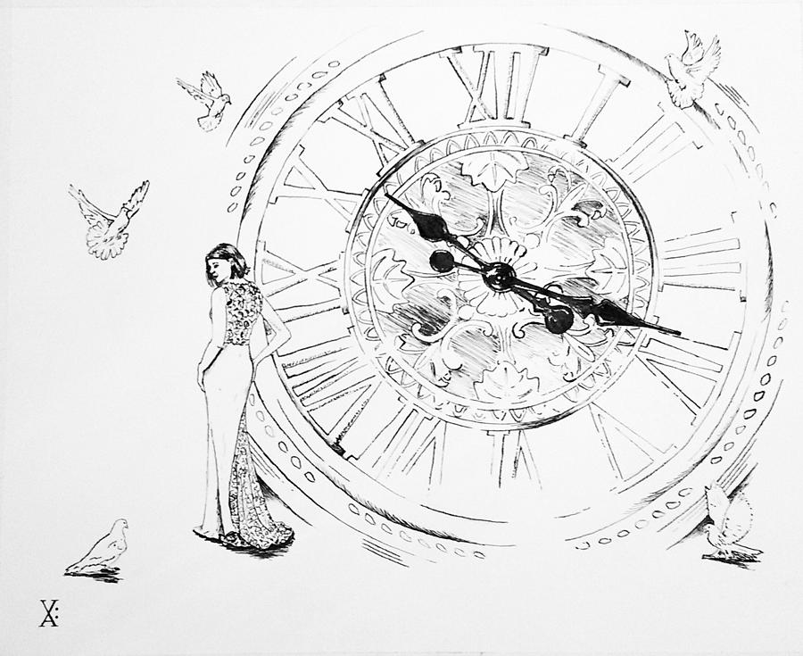 dissolution of time by Violet Jaffe