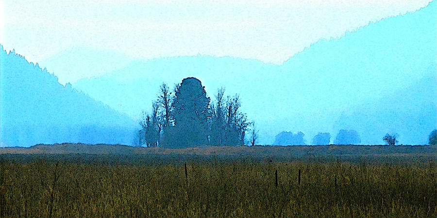 Distant Mountains by Robert Bissett