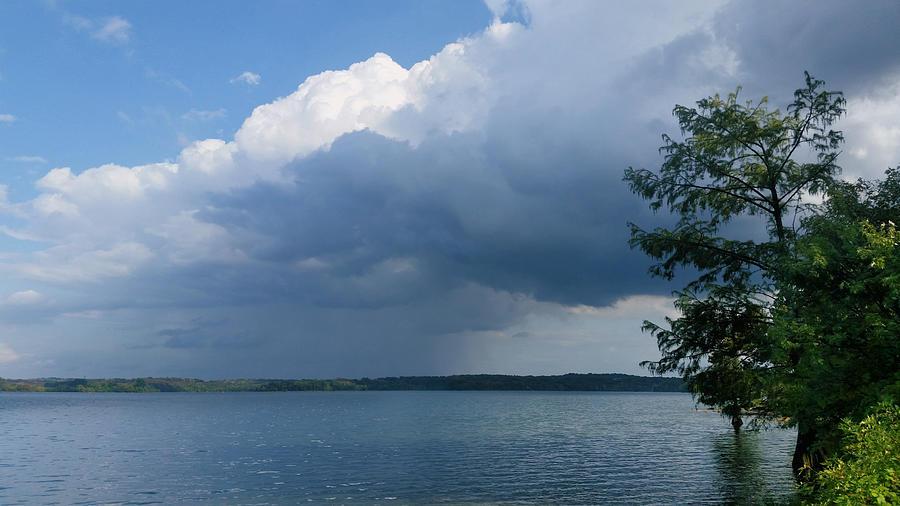 Distant September Rain Photograph