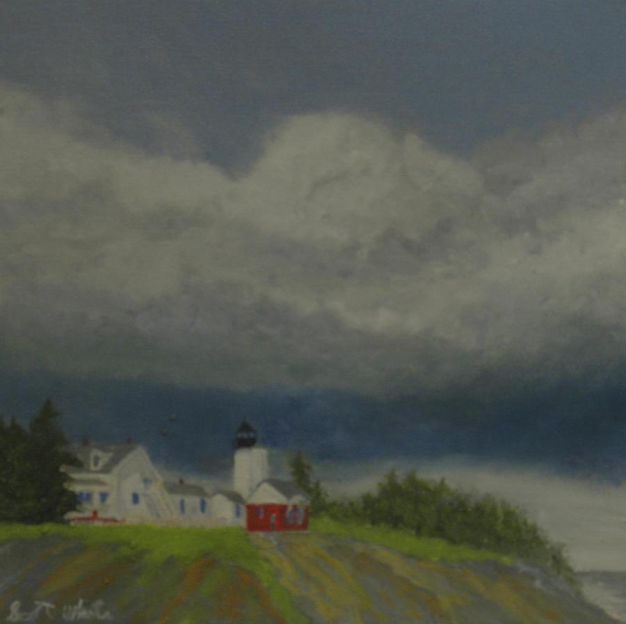 distant storm by Scott W White