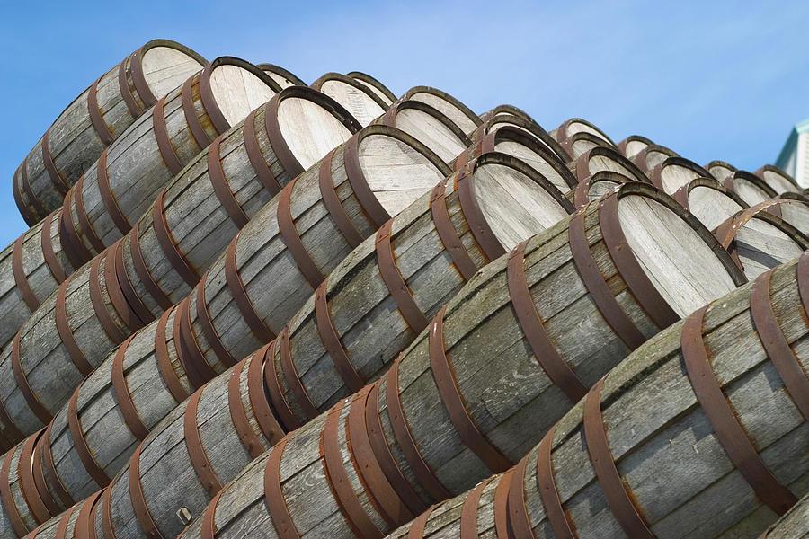 Distillery Barrels 2 Photograph by Tillsonburg