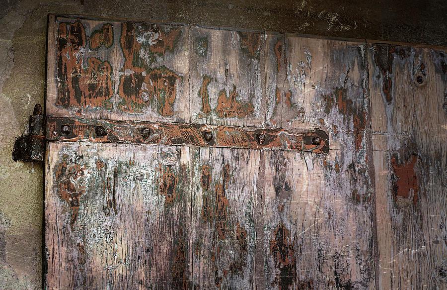 Distressed Door by Joan Carroll