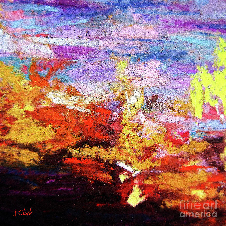 Abstract Painting - Diversity by John Clark