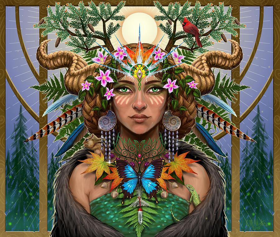 Divine Gaia by Cristina McAllister