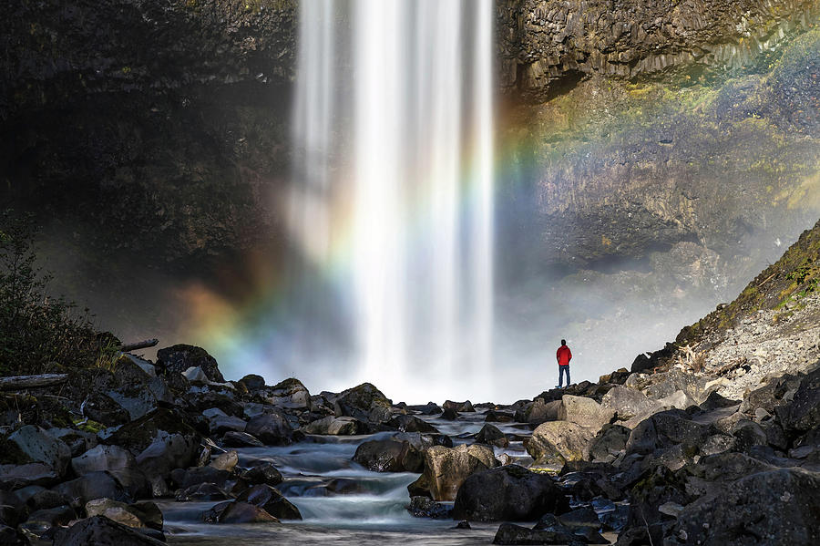 Divine Hand shadow at Brandywine Falls by Pierre Leclerc Photography