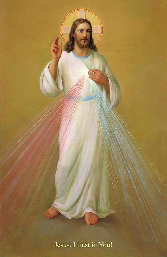 Divine Mercy Painting - Divine Mercy - Divina Misericordia by Svitozar Nenyuk