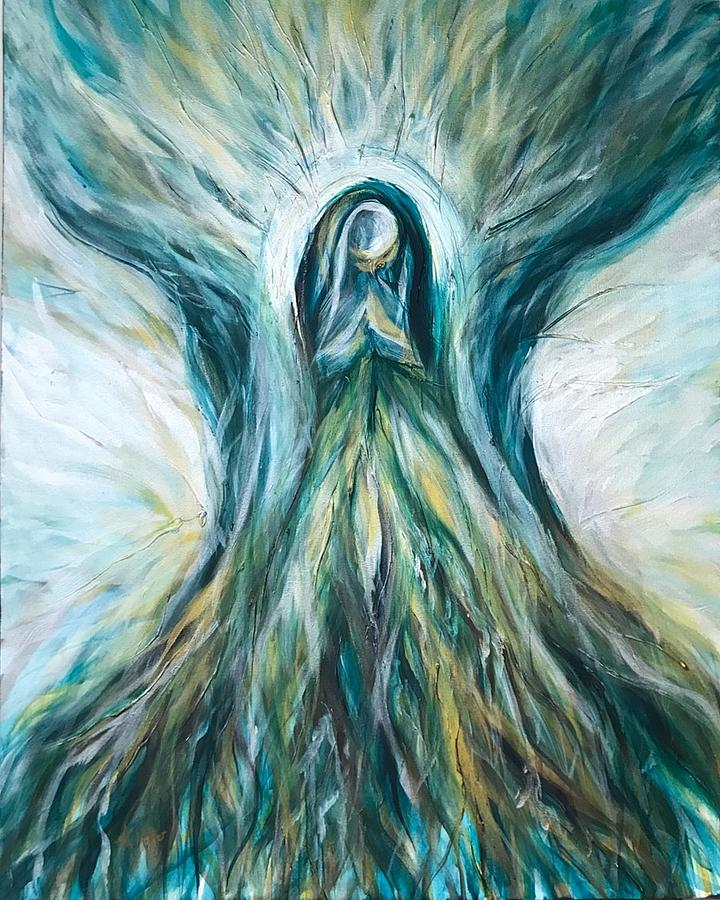 Divine Mother Tree of Wisdom by Michelle Pier
