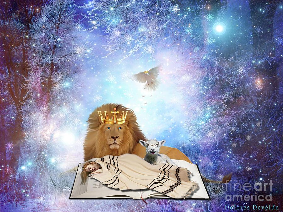 Divine Rest by Dolores Develde