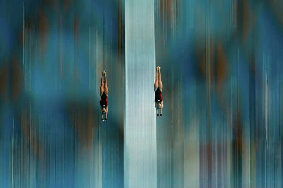 Diving - 16th Fina World Championships Photograph by Clive Rose