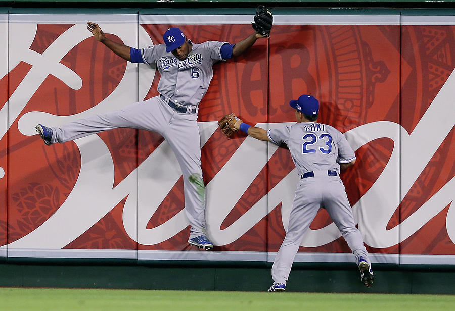 Division Series - Kansas City Royals V Photograph by Jeff Gross