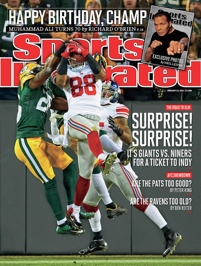 Divisional Playoffs - New York Giants V Green Bay Packers Sports Illustrated Cover Photograph by Sports Illustrated