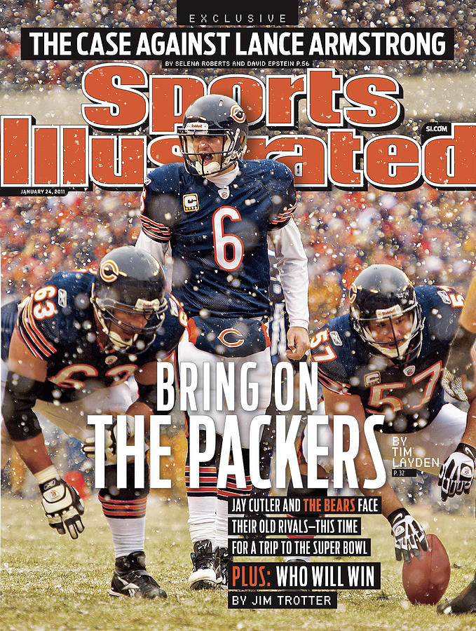 Divisional Playoffs - Seattle Seahawks V Chicago Bears Sports Illustrated Cover Photograph by Sports Illustrated