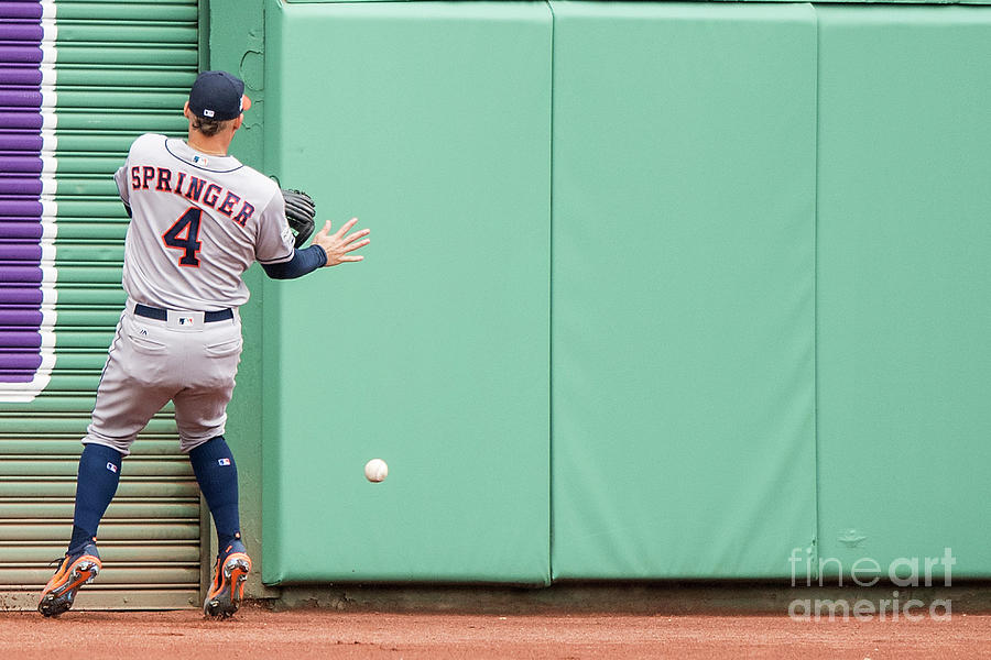 Divisional Round - Houston Astros V Photograph by Billie Weiss/boston Red Sox