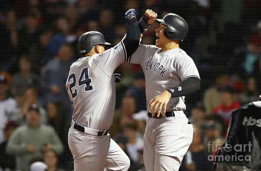 Divisional Round - New York Yankees V Photograph by Tim Bradbury