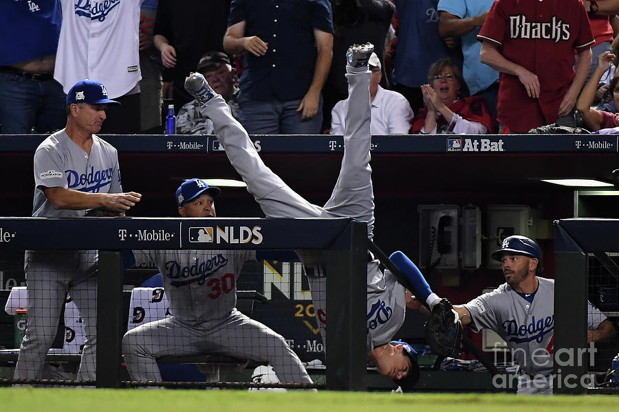 Divisional Series - Los Angeles Dodgers Photograph by Norm Hall