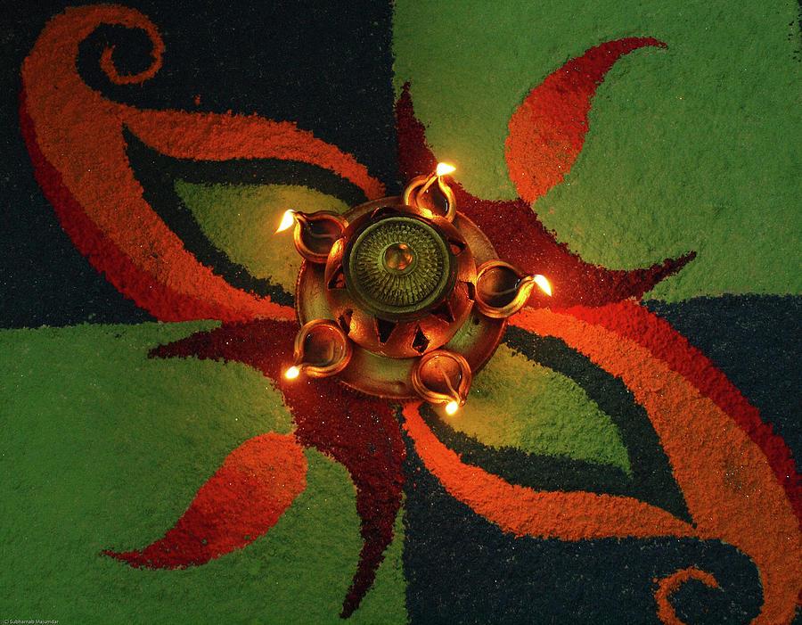 Diwali 2009 Photograph by Subharnab Majumdar