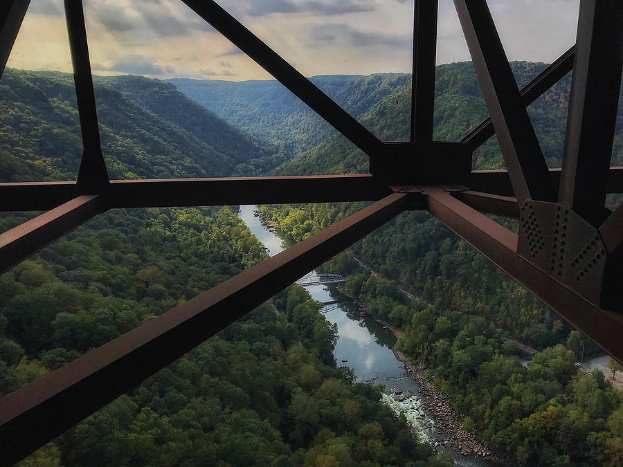 Dizzying View of New River Gorge by Lori Coleman