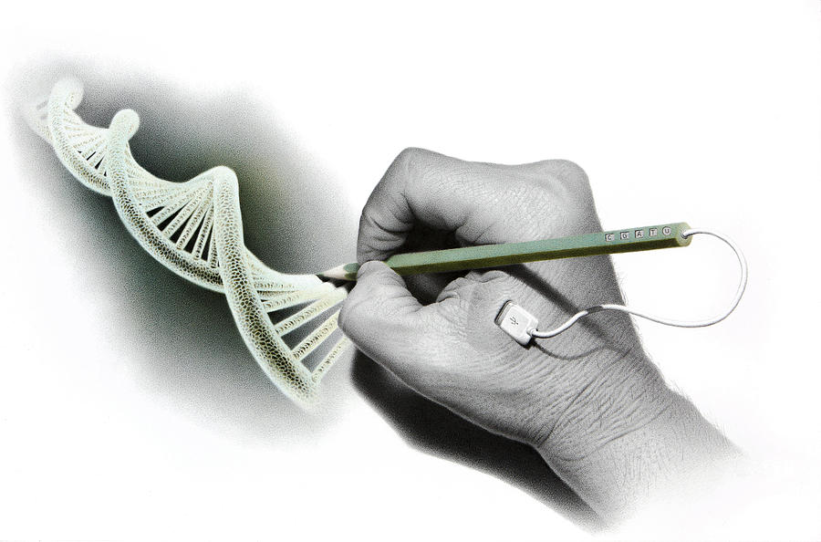DNA Goes Hi-Tech by Stirring Images