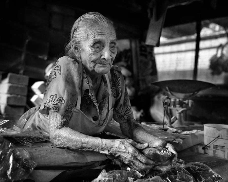 Mexico Photograph - Doña Claudia. Tabasco, Mexico by Toni B Ferragut