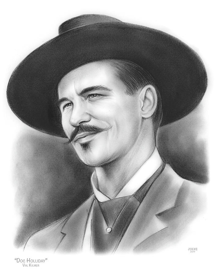 Doc Holliday Drawing