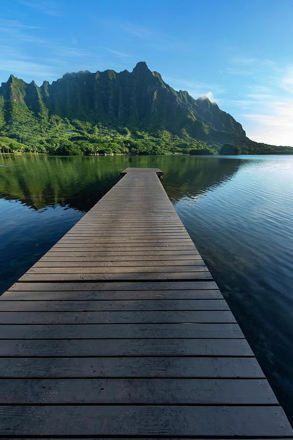 Paradise Island Photograph - Dock To Paradise by Sean Davey