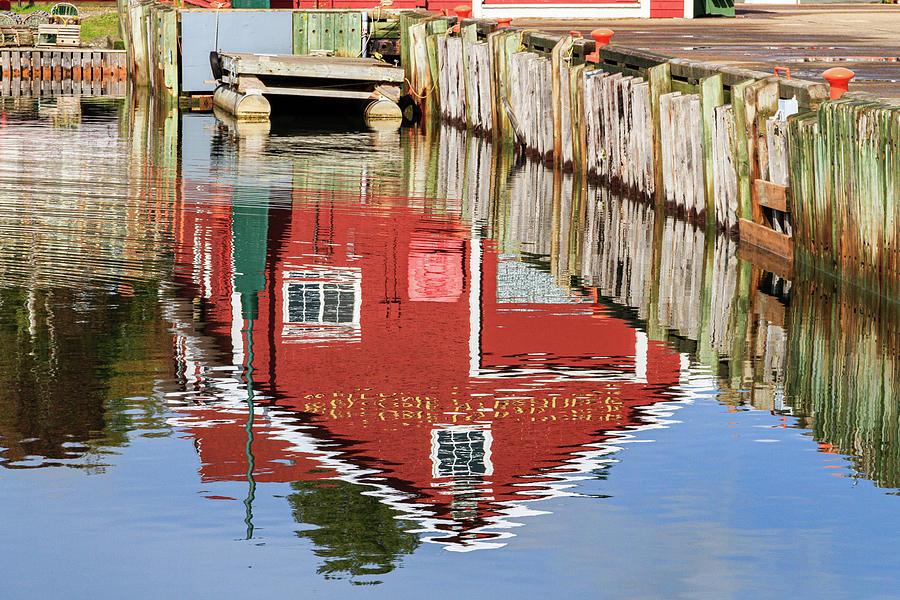 Docks, Cape Breton, Nova Scotia by Andy Romanoff