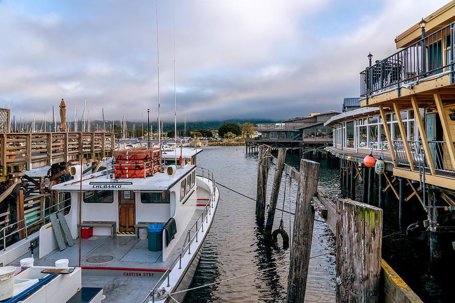 Dockside at the Monterey Wharf by Derek Dean