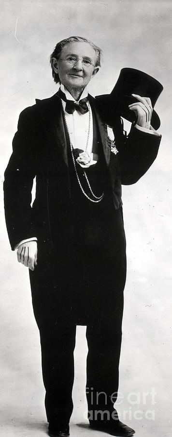 Doctor Mary Walker In Tuxedo Photograph by Bettmann