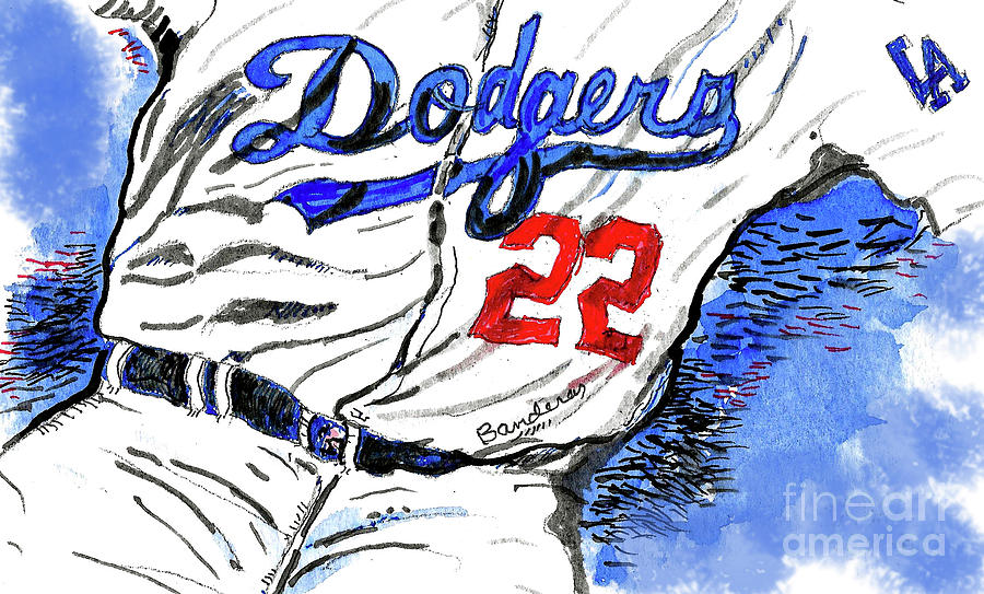 Dodger Blue by Terry Banderas