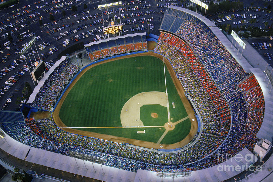Dodger Stadium Photograph by Getty Images