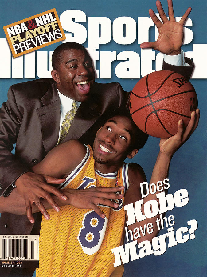 Does Kobe Have The Magic Sports Illustrated Cover Photograph by Sports Illustrated