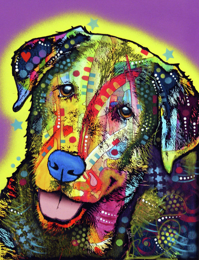 Dog by Dean Russo Art