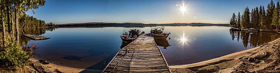 Dog Lake Panorama by Joe Holley
