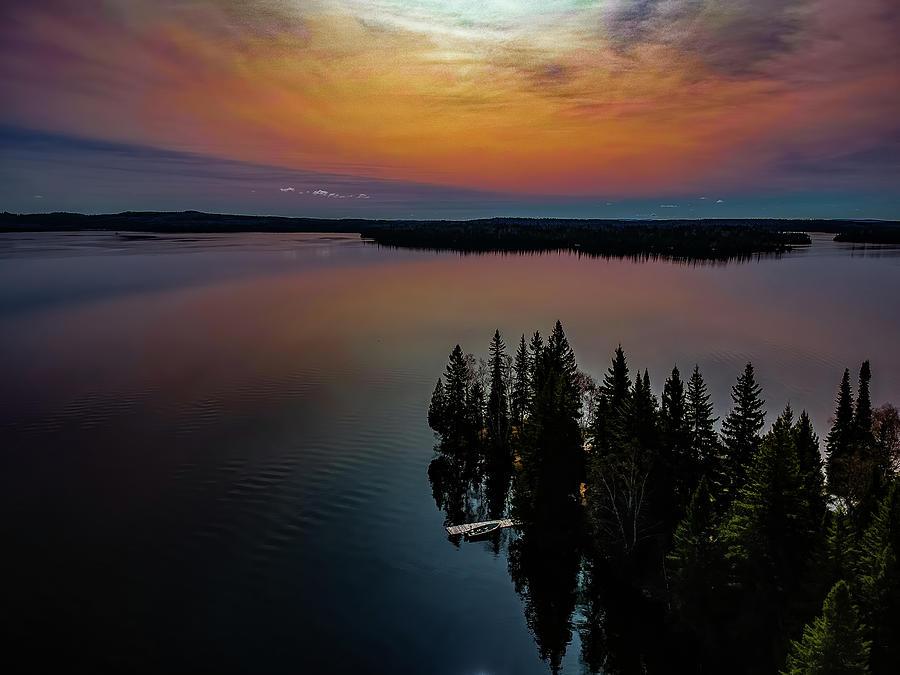 Dog Lake sunrise by Joe Holley