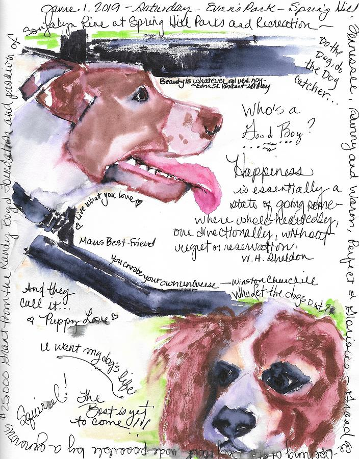 Dog Park by Susan Elizabeth Jones
