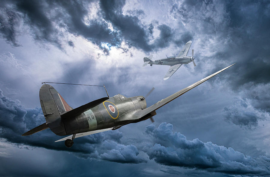 Dogfight Over Dover by Philip Rispin
