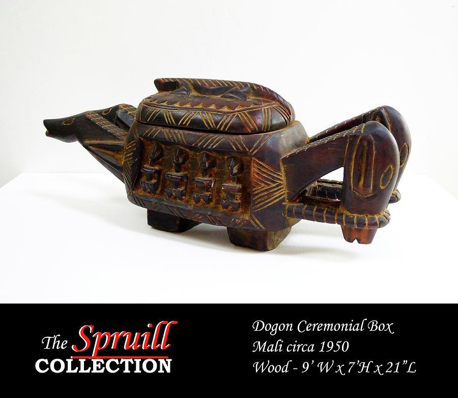 Dogon Ceremonial Box by Everett Spruill