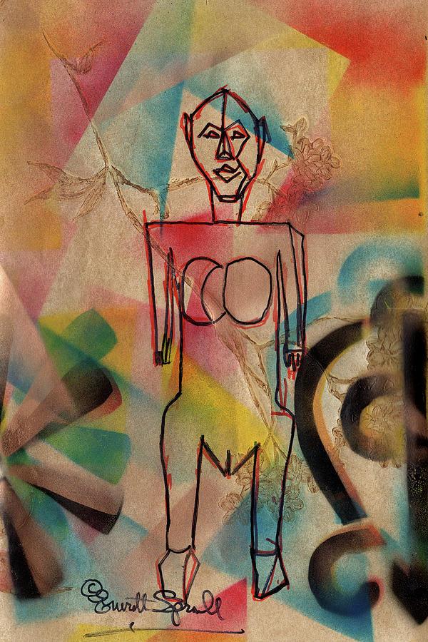 Dogon Inspiration/Adinkra design by Everett Spruill