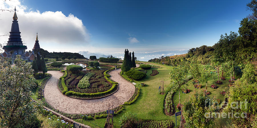 Inthanon Photograph - Doi Inthanon National Park Panorama In by Banana Republic Images