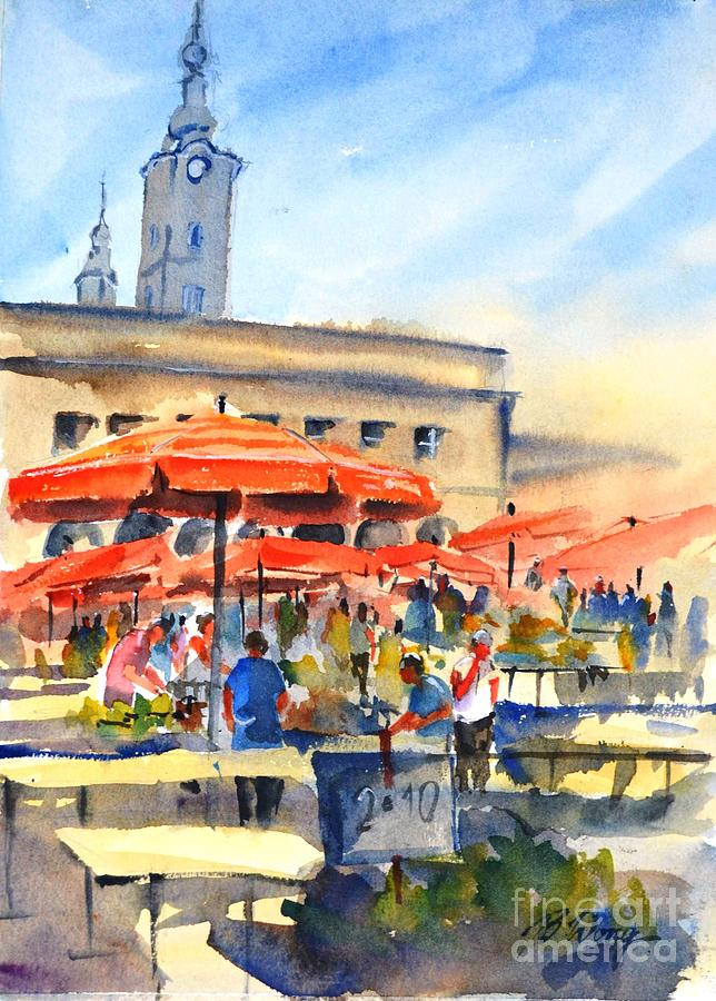 Dolce Market, Zagreb - 2 by Betty M M Wong