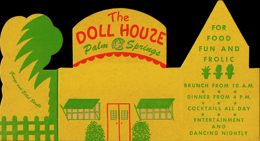 Doll House, The Photograph by Jim Heimann Collection