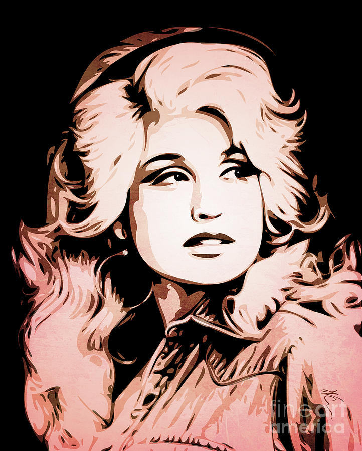 Dolly Parton Painting
