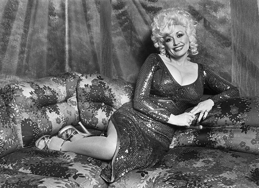 Dolly Parton Portrait Session Photograph by George Rose